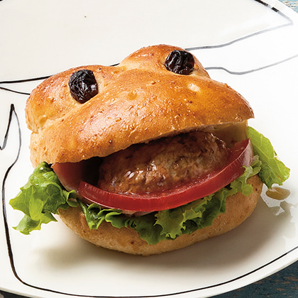 イッツ サンドイッチ マジックのパクッとカエルバーガー