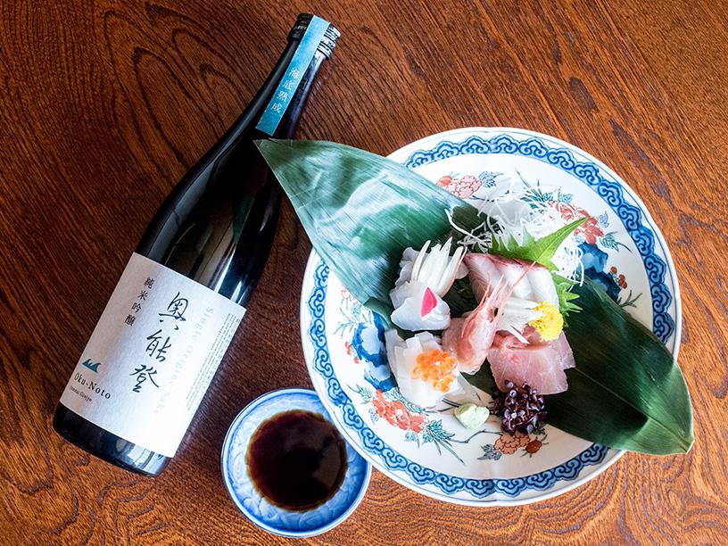 海中熟成種「Single Origine Sake 奥能登 海中熟成」