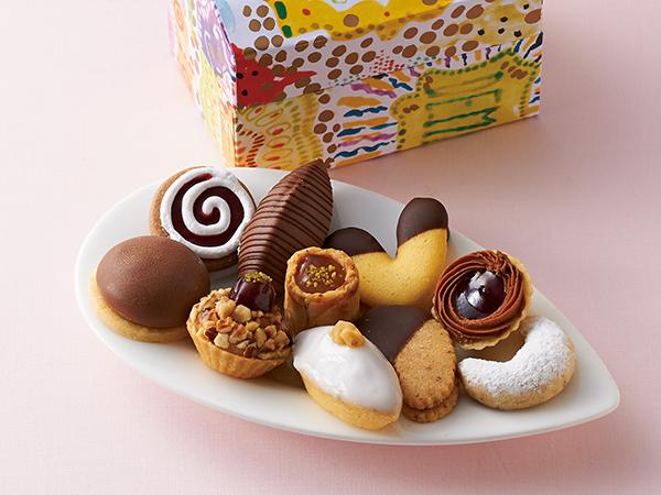 デメルの生クッキー10個入り(特製パッケージ)