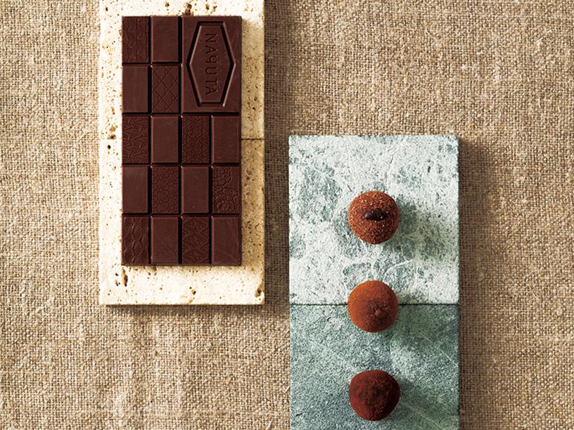 <Dari K>(ダリケー)カカオが香るチョコレート・トリュフ、 <ナユタ チョコラタジア>cacao nouveau 2018 AUTUMN