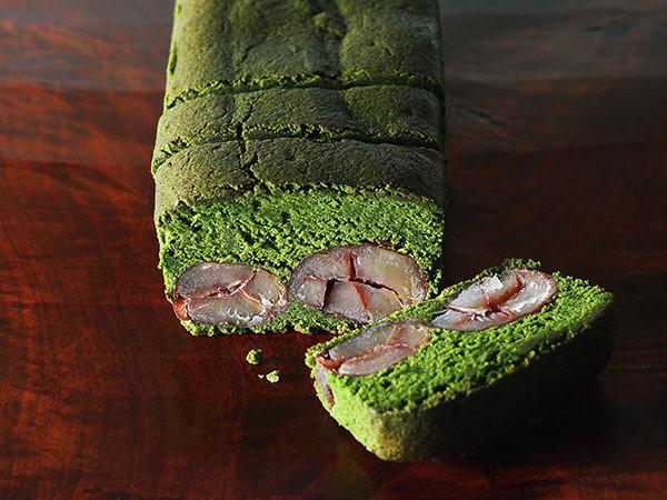 日本茶菓SANOAHの丹波栗と宇治抹茶のパウンドケーキ
