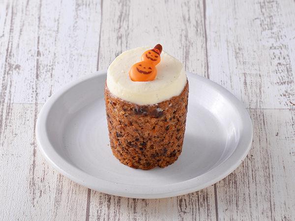 ローズベーカリーのハロウィンキャロットケーキ
