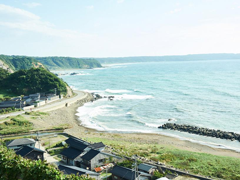 美しい佐渡島の風景