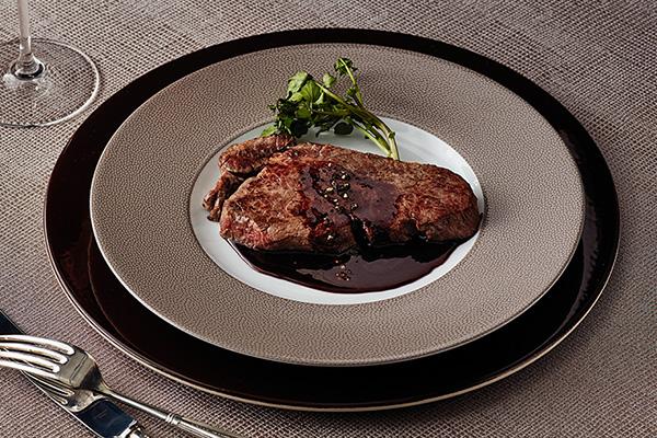 牛ヒレ肉のソテー完成イメージ