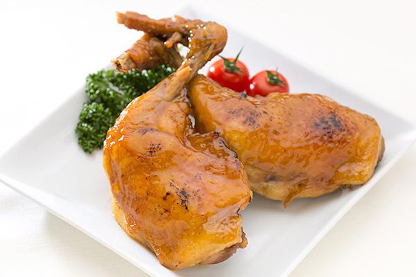 まつおかの三河赤鶏のあぶり焼き