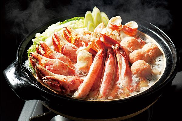 カネコメ田中水産のかに鍋セット