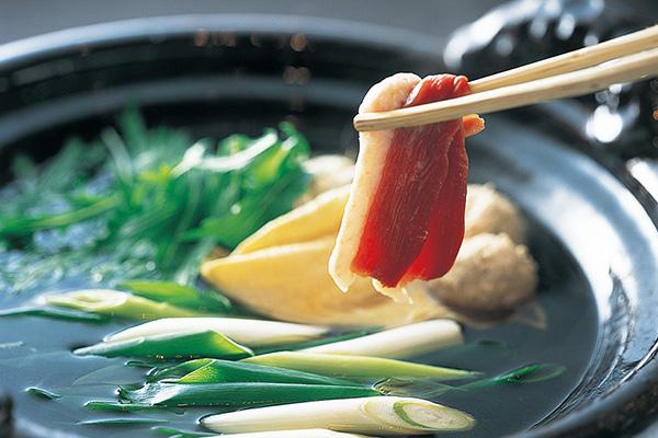紫野和久傳の合鴨鍋