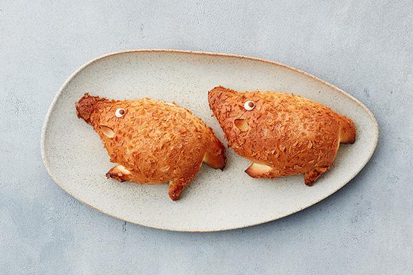 <アンデルセン>いのししのクリームパン