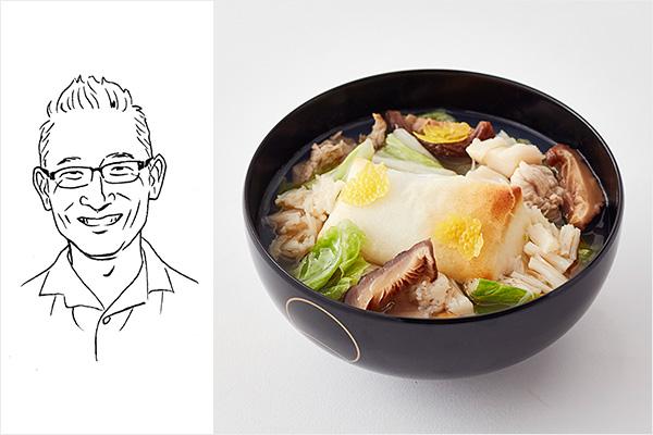 林バイヤー雑煮イメージ+イラスト