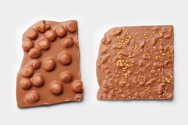 レダラッハのフレッシュチョコレート マカダミア、フレッシュチョコレート ミルク キャラメル サレ