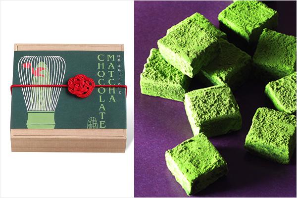日本茶菓SANOAHの京都宇治抹茶生ちょこれいと