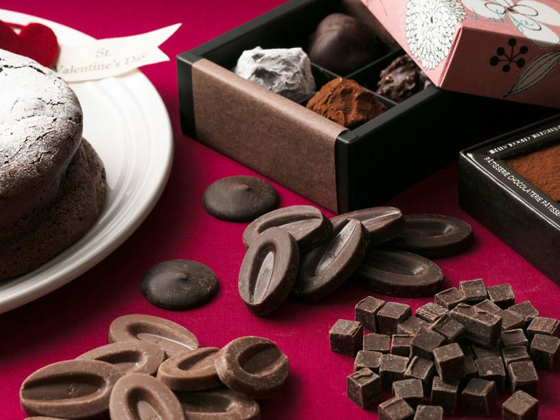 製菓チョコレートの集合イメージ
