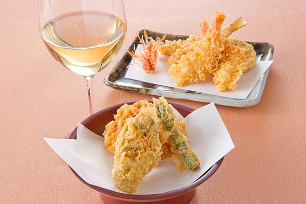 <銀座天一>牡蠣の天ぷら
