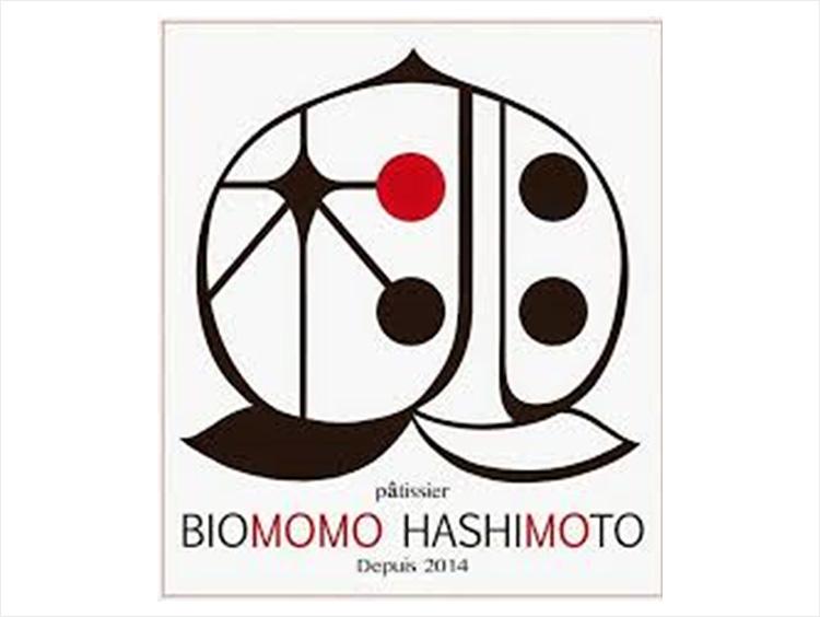 <ビオモモハシモト>ロゴ