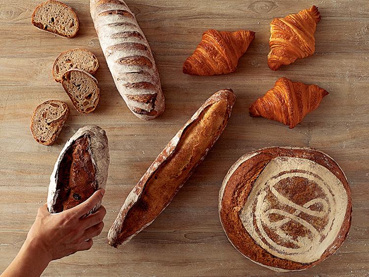 <メゾン・ランドゥメンヌ>のパンたち