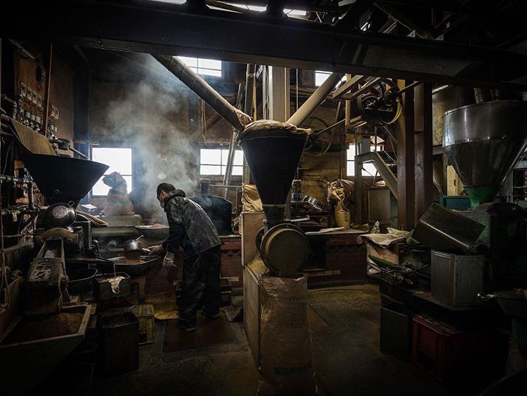 工場内部の風景