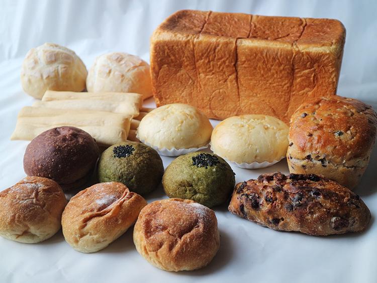 新麦コレクションの全国からセレクト 子どもに食べさせたいパン 4店舗詰合せ