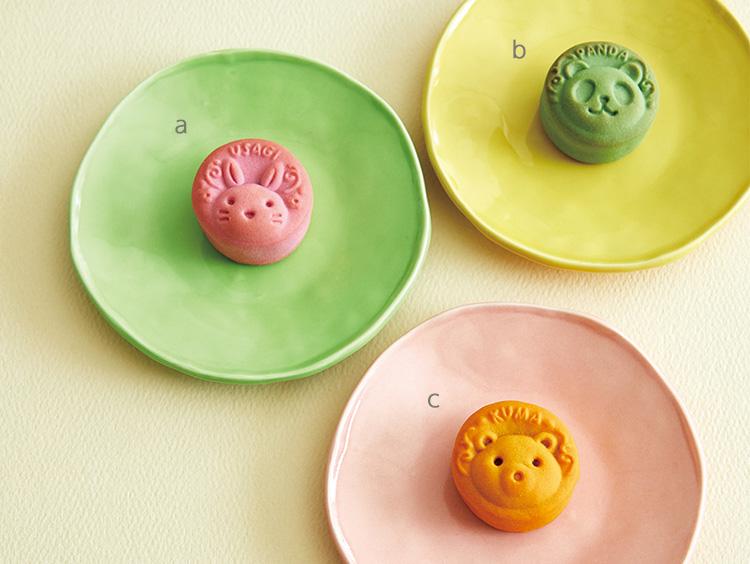 <円果天>円果天café a.うさぎ(いちごみるく)b.パンダ(抹茶ラテ)c.くま(キャラメルマキアート)