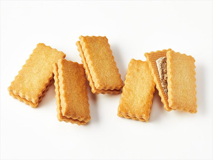 <ヨックモック>バターリッチクリームサンドクッキー 珈琲