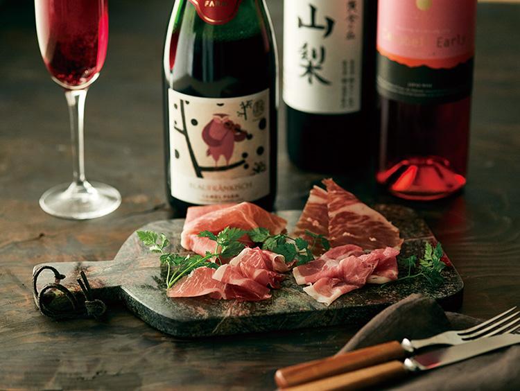 国産生ハム×日本ワイン ペアリング期間限定メニュー
