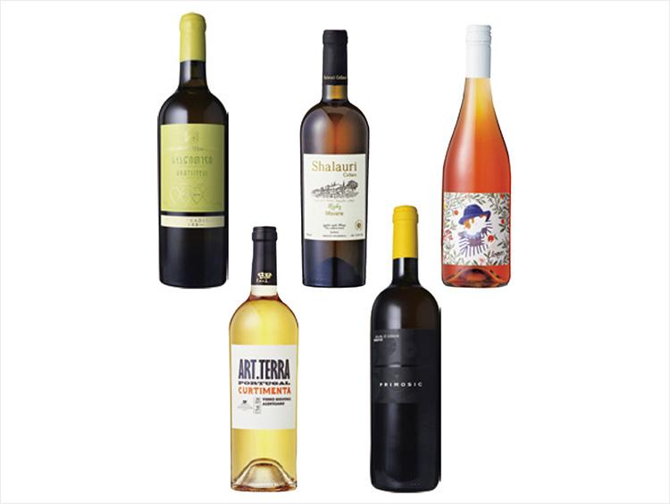 注目のオレンジワイン産地別飲み比べ5本セット