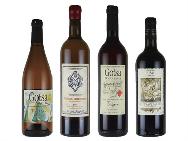 色違いで愉しむジョージアワイン4本セット