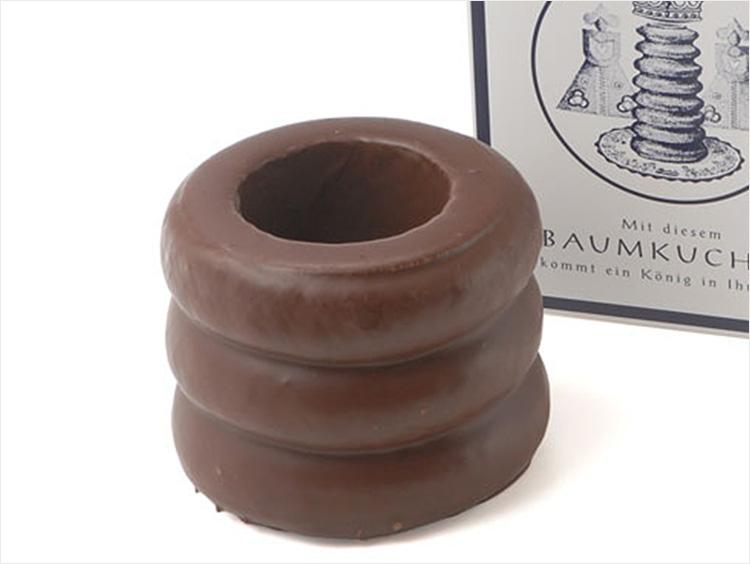 【3,000円前後】  <ホレンディッシェ・カカオシュトゥーベ>バウムクーヘン×チョコレートの贅沢な味わい