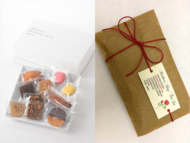 【10,000円以上】  <パティスリー・サダハル・アオキ・パリ>の焼き菓子に<ナヴァラサ>の紅茶をセットで!