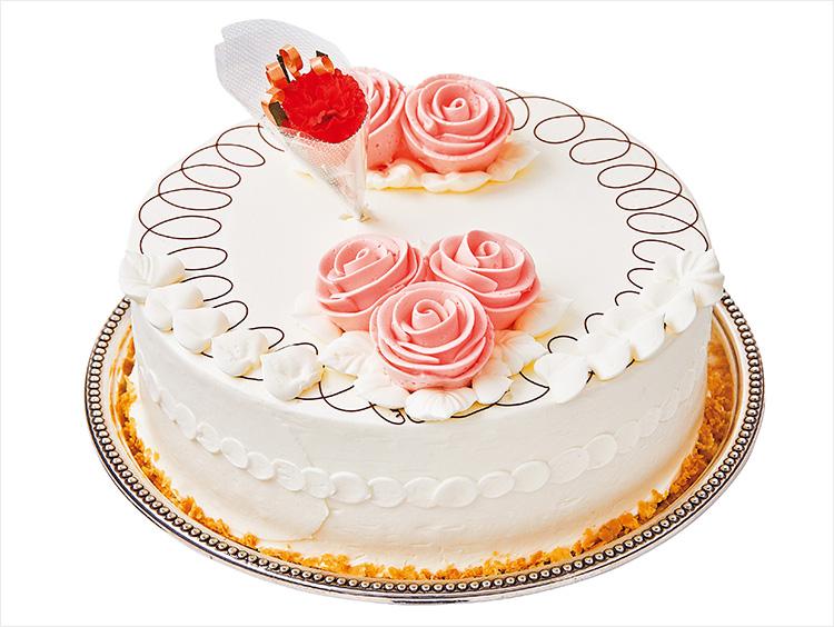 成城アルプスのバタークリームケーキ