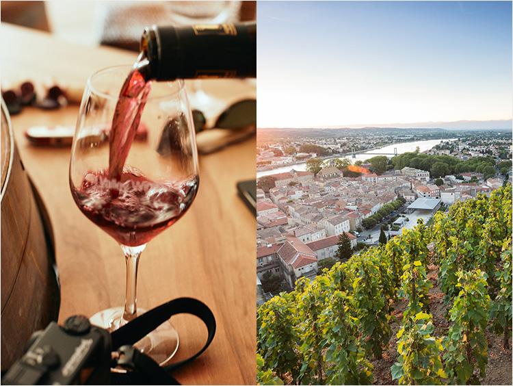 ローヌワインのイメージ
