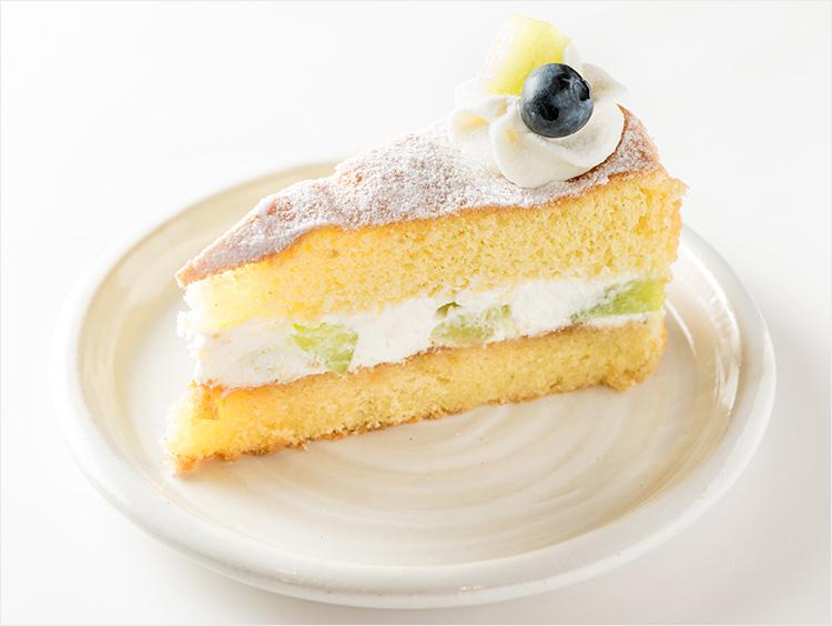 <ローズベーカリー>鉾田産メロンのヴィクトリア ケーキ