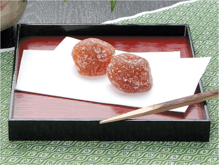 <ちん里う本店>梅和菓子梅納糖