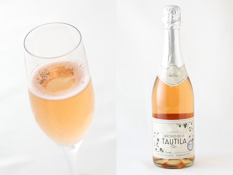 <タウティラ>ノンアルコールワイン ロゼ・スパークリング