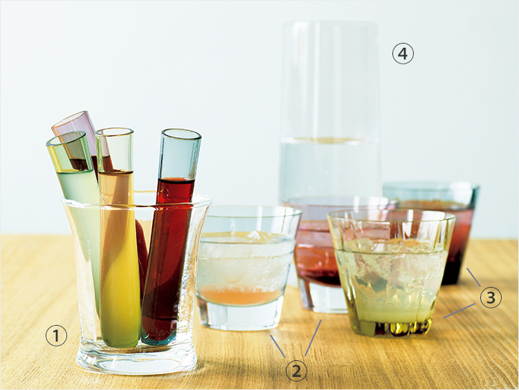 グラスとコンポジションの集合