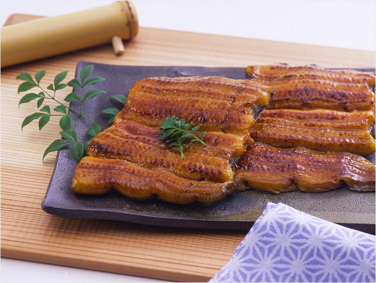 <味の浜藤>うなぎ蒲焼 国内産(たれ・山椒付)