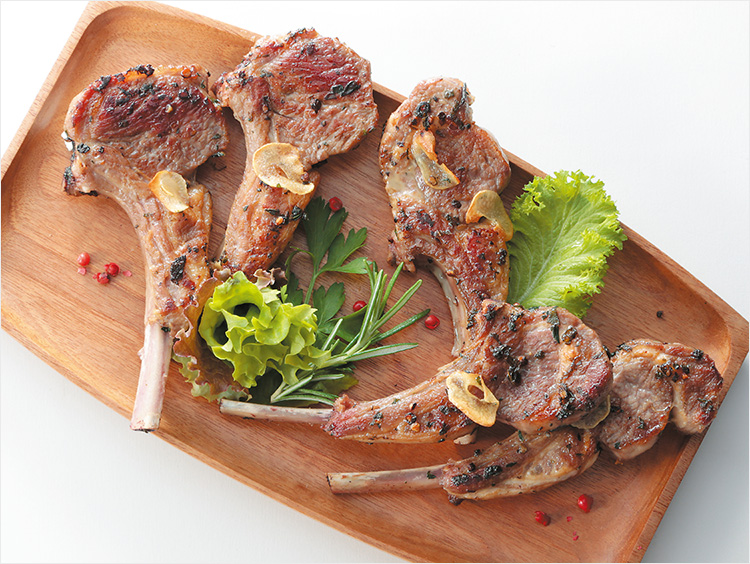 <I'S MEAT SELECTION>ニュージーランド産 ラム骨付きロースハーブマリネ