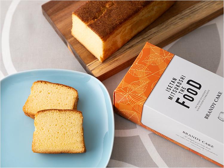 <ISETAN MITSUKOSHI THE FOOD>シベール ブランデーケーキ
