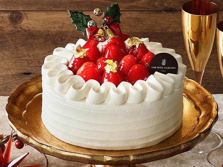 <ザ・リッツ・カールトン東京>クリスマス ストロベリーショートケーキ