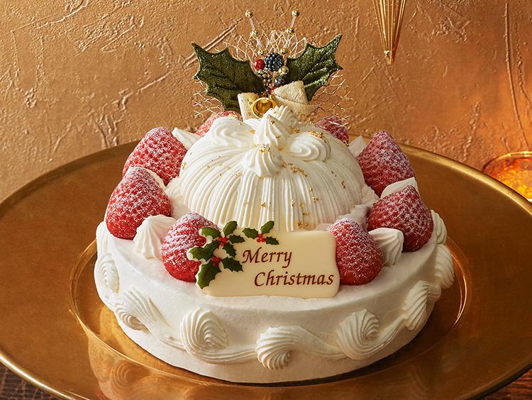 <東京會舘>苺のクリスマスマロンシャンテリー