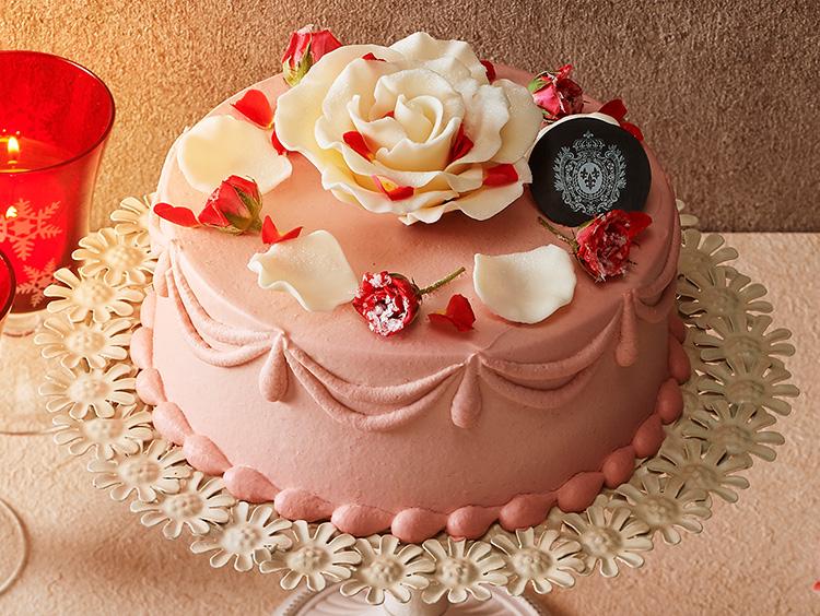 <ドゥボーヴ・エ・ガレ×アニバーサリー>王妃の愛したバラのケーキ