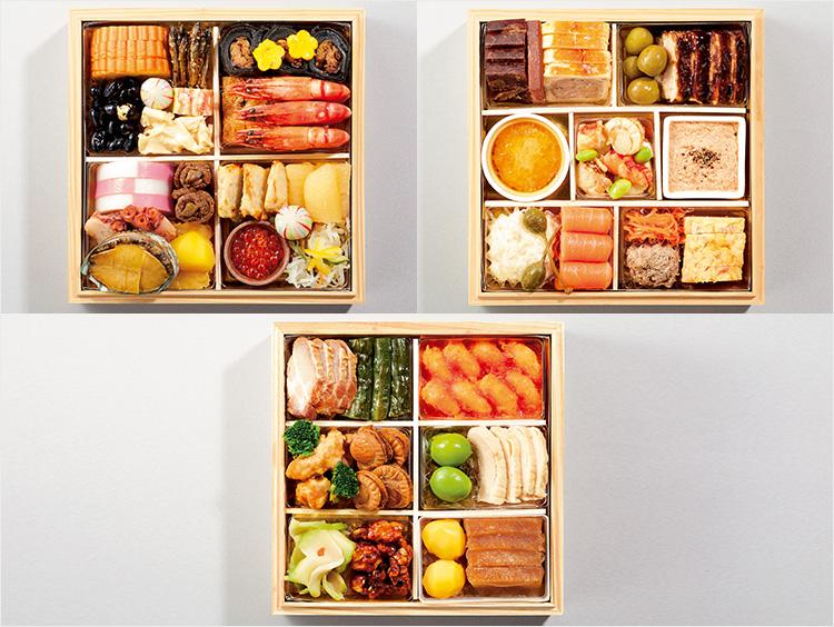 <日本料理 銀座 神谷/オー・プロヴァンソー/赤坂璃宮>「和洋中おせち三段 和<NAGOMI>」