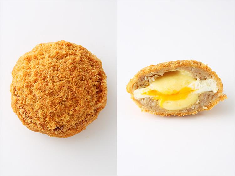 <米沢 琥珀堂>とろけるチーズと玉子のふわとろメンチ