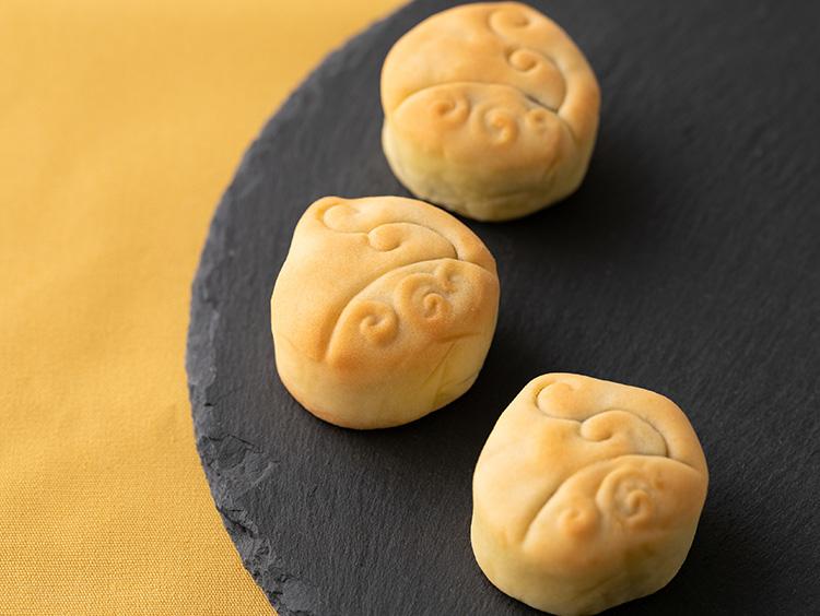 <円果天>円果天月餅モンブラン(1個)250円(税抜き) 展開期間:〜2020年1月7日(火)