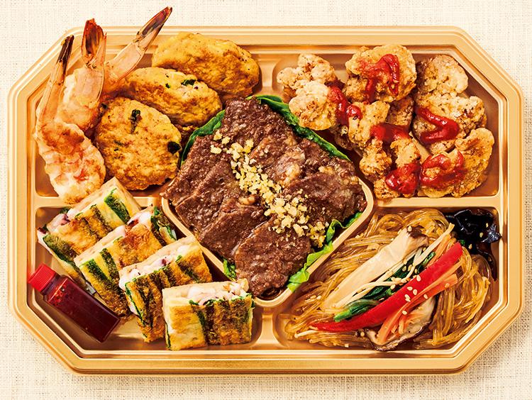 <柳香姫の台所 妻家房>韓国式オードブル