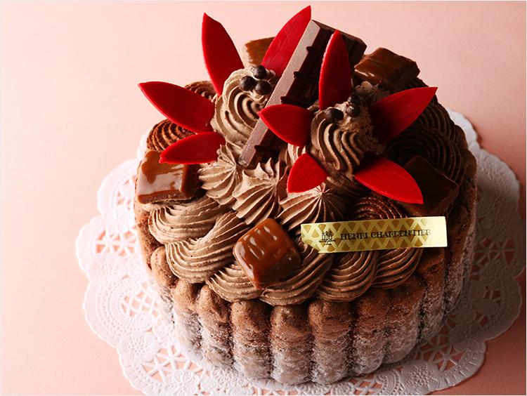 <アンリ・シャルパンティエ>ザ・チョコレートケーキSサイズ
