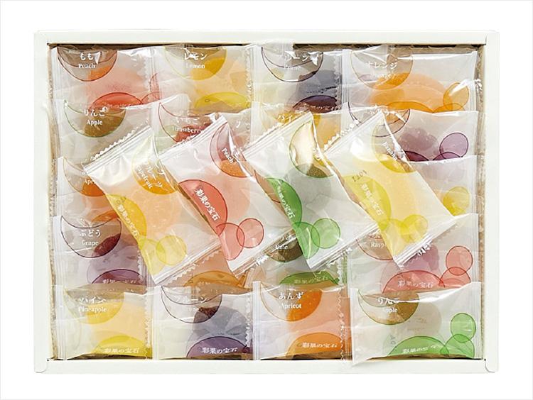 <彩果の宝石>フルーツゼリーコレクション