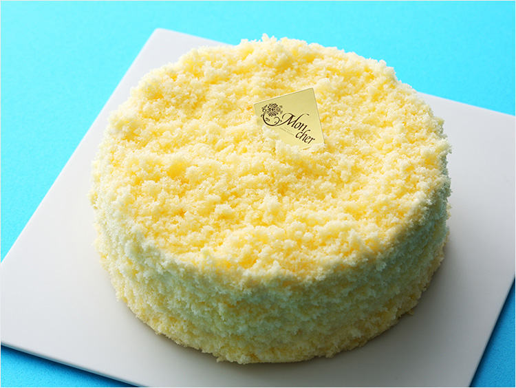 <メゾン・ド・モンシェール>ダブルチーズケーキ(約直径12cm×高さ6cm) 1,404円(税込) ※販売期間:通年
