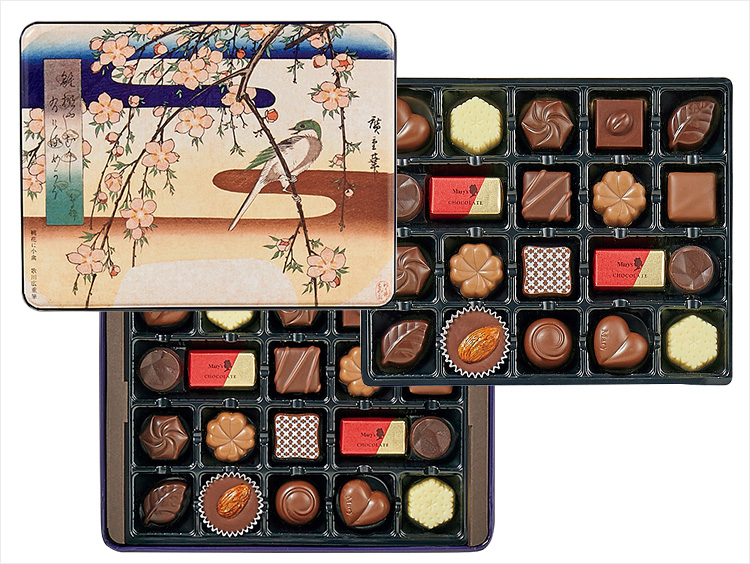 <メリーチョコレート>ファンシーチョコレート(東京国立博物館 限定ギフト)