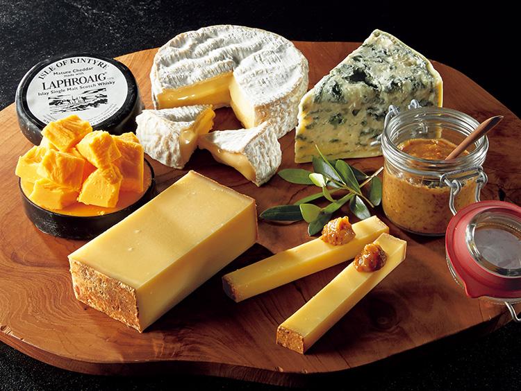 <フロマジュリーヒサダ>専門店の熟成チーズ詰合せ