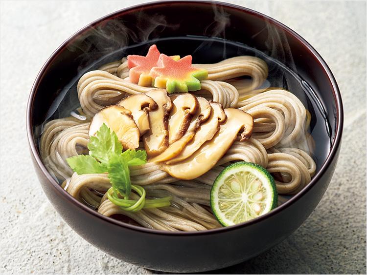<北舘製麺>松茸そば詰合せ